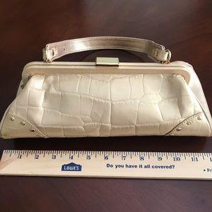 Gold Franco Sarto purse / shoulder bag